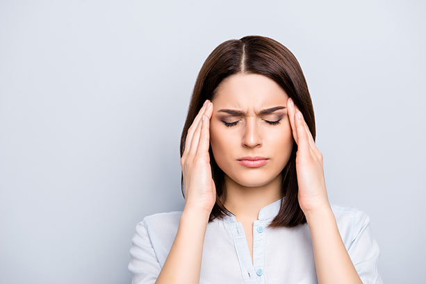 Girl-Headache